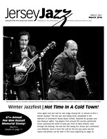 Jersey Jazz March 2016