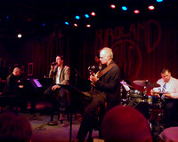 David Akesson singing at Birdland