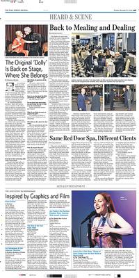 Photo in Wall Street Journal Jan 17 2014